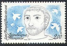 France 1982 St Francis/Doves/Birds/Nature/Assisi/People/Religion 1v (n29250)