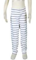 JACADI Girls Lerote White And Grey Striped Leggings Size 6 Years NWT $44