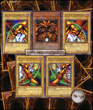 YGO • COMPLETO EXODIA il Proibito Set  5 Carte Divinità
