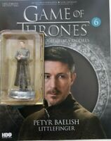 GAME OF THRONES ISSUE 6 PETYR BAELISH EAGLEMOSS FIGURE COLLECTOR'S MODEL