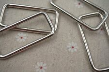 25pcs- 2'' (50mm) Welded Rectangle Rings for webbing strapping