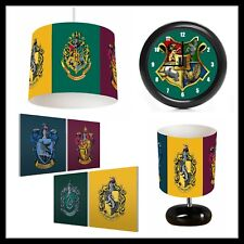 HARRY POTTER - Kids Bedroom in a box - Lightshade, Lamp, Clock, Canvas Prints
