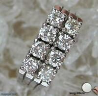 Damen Finger Ring mit Brillanten Brillant Diamant Diamantring in Gold 750 18Kt