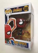 AVENGERS INFINITY WAR POP Vinyl IRON SPIDER WITH LEGS #300 New in box Spider-Man
