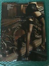 Victoria's Secret Stockings C w Backseam RARE