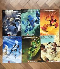 Lego Bionicle TOA MATA Posters 8531-8536 THE ORIGINAL