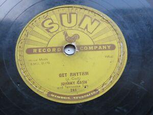 JOHNNY CASH  1956   SUN   78   TRAIN OF LOVE    THERE YOU GO    SUN 258