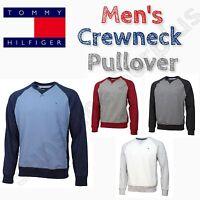 TOMMY HILFIGER Men's Crew Neck Pullover Sweatshirt - M-L-XL-XXL VARIETY
