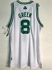 Adidas Swingman NBA Jersey Boston Celtics Green White sz 2X