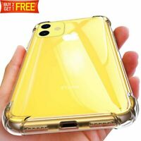 Case For iPhone 11 Pro Max XR XS MAX Clear Crystal Protective Hybrid Hard Cover