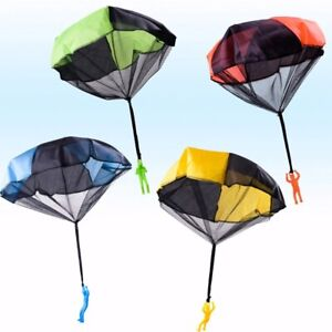 5Set Kids Hand Throwing Parachute Toy For Children Educational Outdoor Games