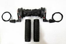 Sram X0 X.0 Grip Shift Twist Shifters Set, Rear Front, 3 x9 Spd w/Cables & Grips