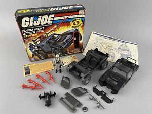 Hasbro G.I. Joe ARAH 1984 Cobra Stinger with Box Blueprints Driver File Card
