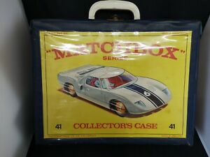 M20-MATCHBOX CAR CARRY CASE WITH FOUR TRAYS FOR 48 CARS