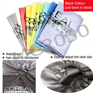 New Multi-colors Hair Cutting Cape Pro Salon Barber Hairdressing Gown OZ Seller