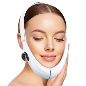 Chin V-Line Up Face Lifting Belt LED Photon Therapy Face Slimming Massager