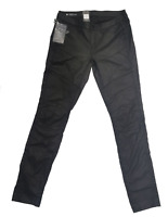 RAW G-Star Damen Jeans 5620 Custom Mid Skinny Distro Black Super Stretch Rinsed
