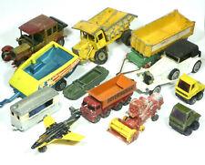 Vintage Matchbox Car Job Lot Collection Model Diecast Lesney Hotwheels Retro Toy