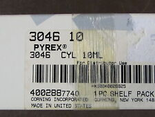 Corning PYREX Glass TC 10mLSingle Metric Scale Cylinders Lifetime Red 3046-10