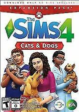 The SIMS 4 Cats & Dogs PC MAC Expansion Pack; NEW! Ships Daily FREE USPS First