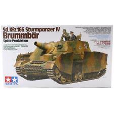 TAMIYA SD. Kfz.166 STURMPANZER IV brumbär tedesco TANK MODEL SET (SCALA 1:35) NUOVO