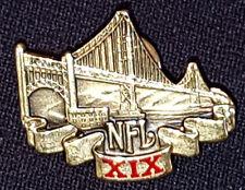 1985 - NFL - FOOTBALL - XIX SUPERBOWL - MEDIA / PRESS - #2102 - PIN - ORIGINAL
