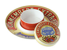 BIA Cordon Bleu Porcelain Camembert Baker & Serving Platter Gift Boxed New