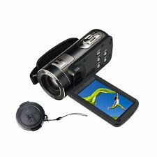 Marvue Videocamera Full HD 1080p 24MP con display touch zoom digitale 16x