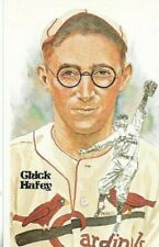 Chick Hafey Perez-Steele Hall of Fame Art Postcard St. Louis Cardinals #121