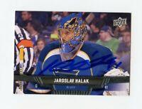 JAROSLAV HALAK BLUES AUTOGRAPH AUTO 13/14 UPPER DECK #125 *62069