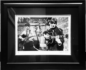 Beatles Abbey Road Studios London 1963 B&W Silverprint signed by Terry O'Neill
