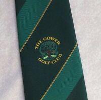 Vintage GOLF Tie Mens Necktie Retro Sport GOLFING CLUB GOWER