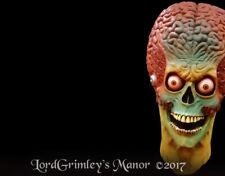 Officially Licensed Mars Attacks Soldier Halloween Mask Horror Alien UFO Area 51