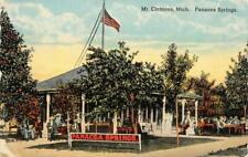 PANACEA SPRINGS Mt. Clemens, Michigan Spring Water 1913 Vintage Postcard