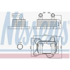 Nissens Ölkühler, Motoröl Opel Astra G Caravan,Astra G Cc,Astra 90682