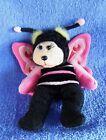 *1719c* Mooky the Butterfly Bear BK526 - Skansen Beanie Kids - plush - 20cm