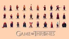 Olly Moss Game Of Thrones Mondo