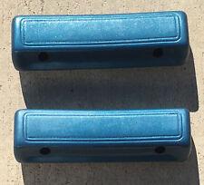 "Mopar Dodge Plymouth B C Body Dark Blue (330) 69/70  9 1/2"" Arm Rest Pads NEW"