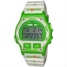 Timex TW5M03700, 8-Lap Ironman White Resin Watch, Retro, Indiglo, Chrono,