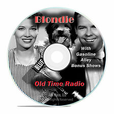 Blondie, 931 Old Time Radio Comedy Shows OTR, with bonus episodes mp3 DVD G13