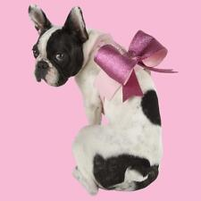 $265 Dog Harness Designer Pink Bow Hollywood Glamour for Small Dog NEW