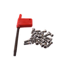 20pcs M3.5 x 10mm Insert Torx Screw for Carbide Inserts Lathe Tool & Screwdriver