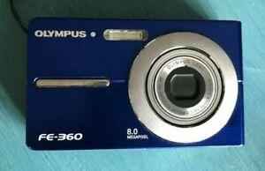 Olympus FE360 8.0Megapixel Digital Camera with AF 3x Optical Zoom