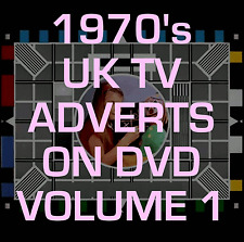 Classic 70's British UK TV Adverts DVD RETRO VINTAGE NOSTALGIA