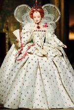 QUEEN ELIZABETH I England Women of Royalty GOLD Label NIB Collector Barbie Doll