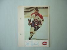 1971/72 TORONTO SUN NHL ACTION HOCKEY PHOTO HENRI RICHARD SHARP!! TORONTO SUN