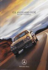 MERCEDES CLK Avantgarde Coupé Cabrio c208 prospectus brochure 1999 67