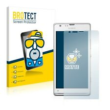 2x BROTECT Matte Screen Protector for Sony Xperia SP LTE C5306 Protection Film