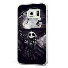 Nightmare Before Christmas Scary Art WHITE PHONE CASE COVER for SAMSUNG GALAXY