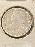 1835 capped bust dime with Offset Reverse *74835